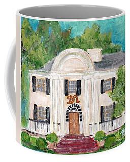 Chi Omega House At Ole Miss Coffee Mug