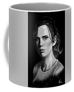 Chiaroscuro And A Beautiful Woman Coffee Mug