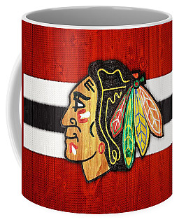 Chicago Blackhawks Barn Door Coffee Mug