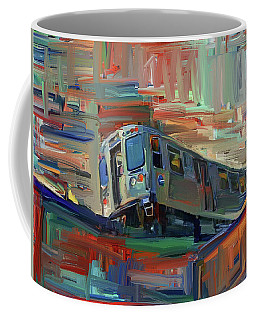 Chicago City Train Coffee Mug