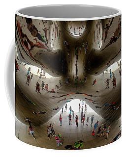 Chicago Cloud Art Coffee Mug