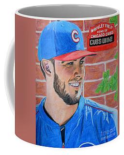Chicago Cubs Kris Bryant Portrait Coffee Mug