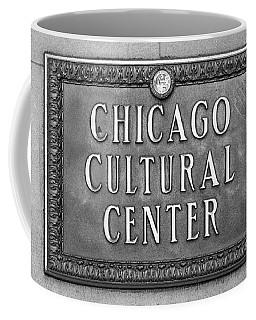 Chicago Cultural Center Plaque Coffee Mug