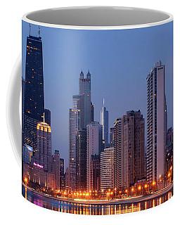 Chicago - Dawn - Cityscape  Coffee Mug