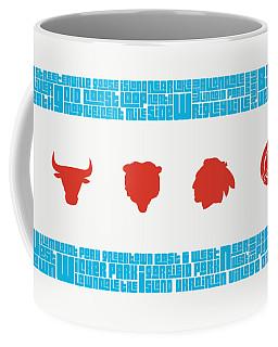Chicago Flag Sports Teams Coffee Mug