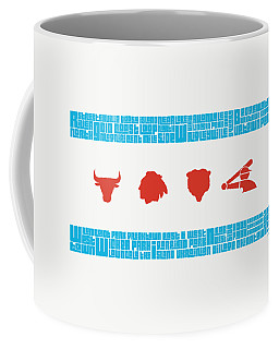 Chicago Flag Sports Teams V2 Coffee Mug