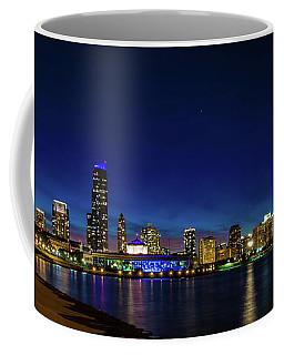 Chicago From Adler Planetarium Coffee Mug