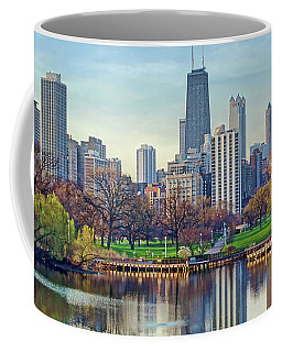 Chicago From Lincoln Park Coffee Mug