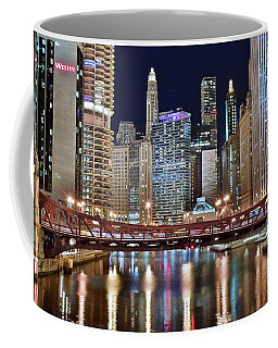 Chicago Full City View Coffee Mug by Frozen in Time Fine Art Photography