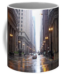Chicago In The Rain Coffee Mug
