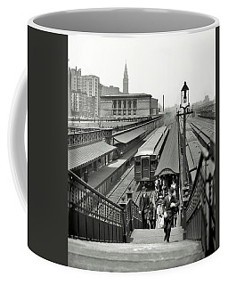 Chicago Loop Commuters 1907 Coffee Mug