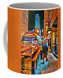 Chicago Night Time Coffee Mug