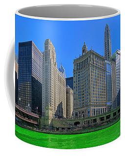Chicago On St. Patrick's Day Coffee Mug