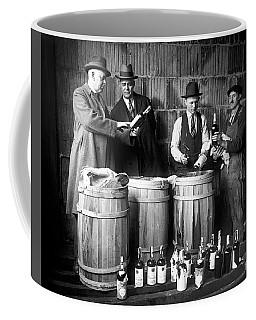 Chicago Prohibition Bust  1931 Coffee Mug