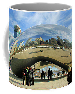 Chicago Reflected Coffee Mug