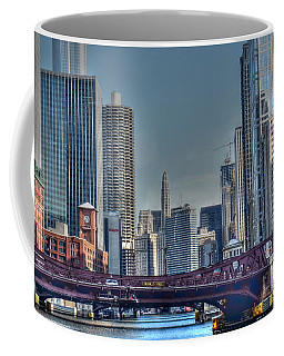 Chicago River East Coffee Mug