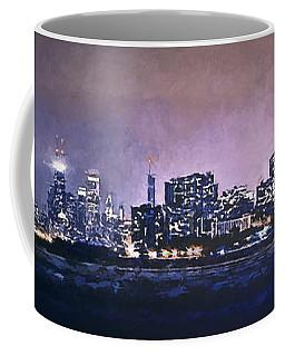 Chicago Skyline From Evanston Coffee Mug