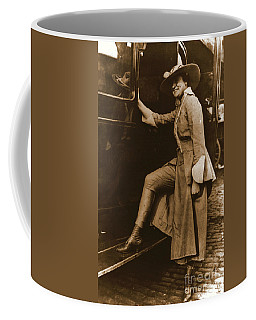 Chicago Suffragette Marching Costume Coffee Mug