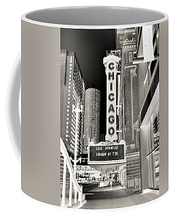 Chicago Theater - 2 Coffee Mug by Ely Arsha
