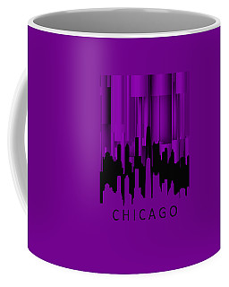 Chicago Violet Vertical  Coffee Mug