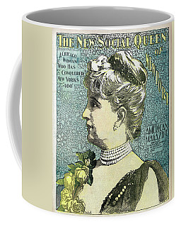 Coffee Mug featuring the photograph Chicago Woman Conquers New York's 400  1898 by Daniel Hagerman