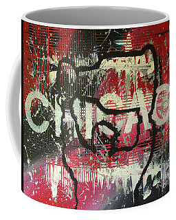 Coffee Mug featuring the painting Chicago's Cup by Melissa Goodrich