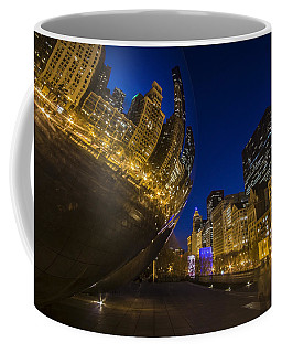 Chicago's Millenium Park At Dusk Coffee Mug