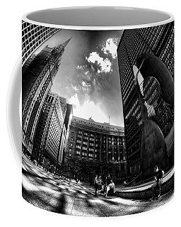 Chicago's Picasso With A Fisheye View Coffee Mug