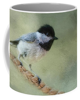 Chickadee At The Shore Coffee Mug