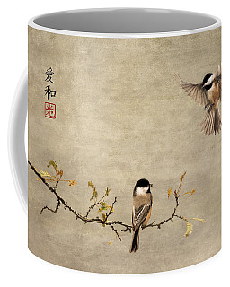 Chickadee Encounter II Coffee Mug