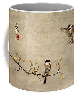Chickadee Encounter II Coffee Mug