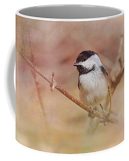 Chickadee In Spring Coffee Mug