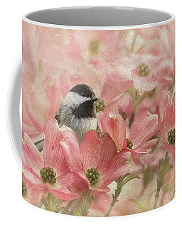 Chickadee In The Dogwood Coffee Mug