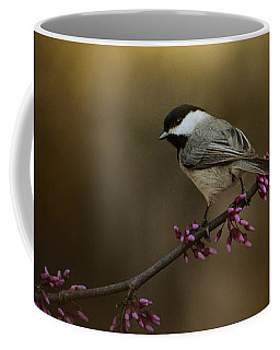 Chickadee In The Golden Light Coffee Mug