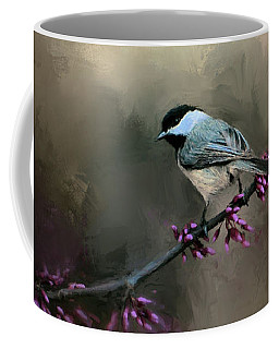 Chickadee In The Light Coffee Mug