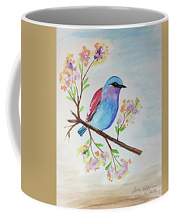 Chickadee On A Branch Coffee Mug