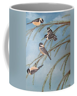 Chickadee Party Coffee Mug