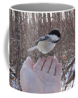 Chickadee Selfie Coffee Mug