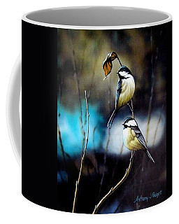 Chickadees Coffee Mug