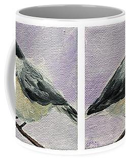 Chickadees Row Coffee Mug