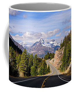 Coffee Mug featuring the photograph Chief Joseph Scenic Highway by John Gilbert