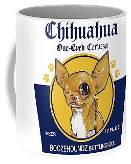 Chihuahua One-eyed Cerveza Coffee Mug
