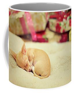 Chihuahua Puppy Christmas Dreams Coffee Mug