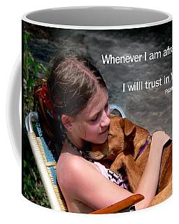 Child And Puppy Psalms Coffee Mug