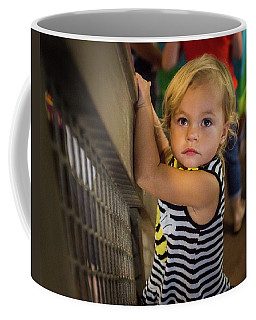 Coffee Mug featuring the photograph Child In The Light by Bill Pevlor