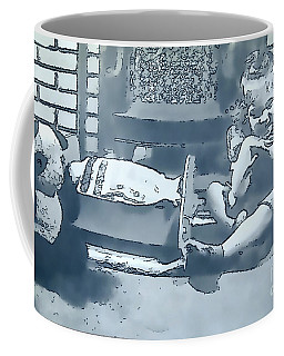 Coffee Mug featuring the photograph Childhood Memories by Linda Phelps