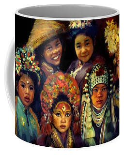 Children Of Asia Coffee Mug