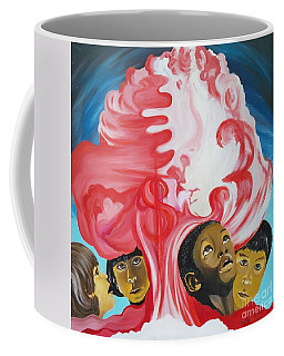 All God's Children.             Children Of The Nuclear Age Coffee Mug