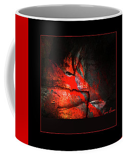 Coffee Mug featuring the photograph Children's Blood by Karo Evans