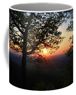 Coffee Mug featuring the photograph Chilhowee Sunset by Kathryn Meyer